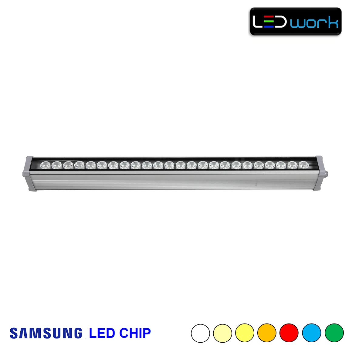 67 cm 24 Watt SAMSUNG LED Chip Sıva Üstü Wallwasher