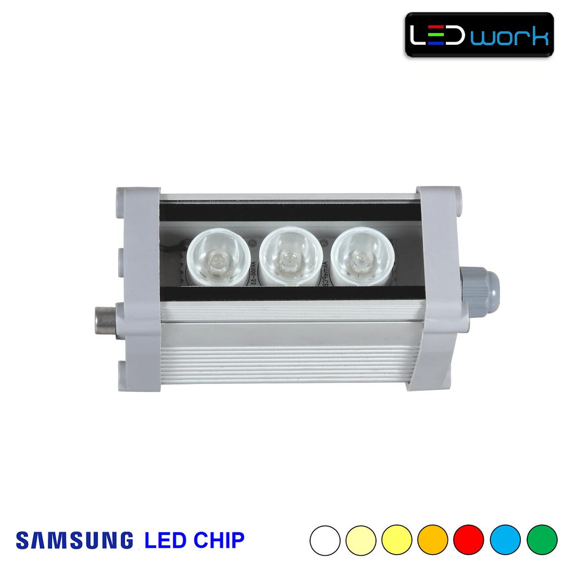 12 cm 3 Watt SAMSUNG LED Chip Sıva Üstü Wallwasher