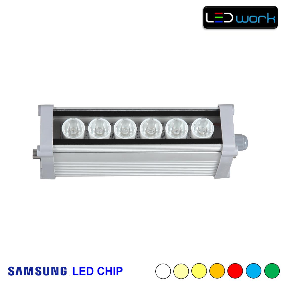 20 cm 6 Watt SAMSUNG LED Chip Sıva Üstü Wallwasher