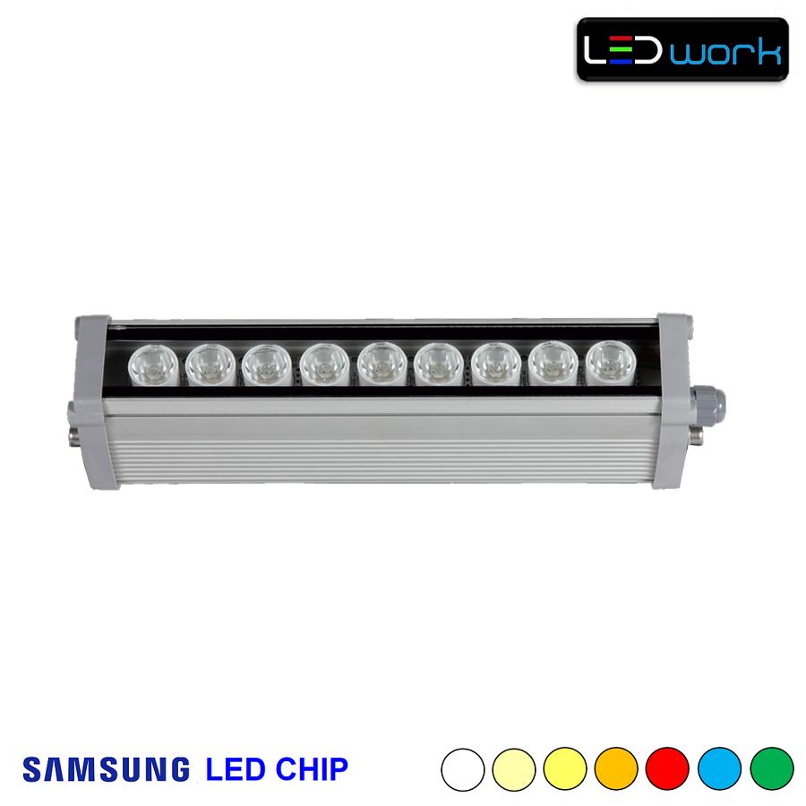 30 cm 9 Watt SAMSUNG LED Chip Sıva Üstü Wallwasher