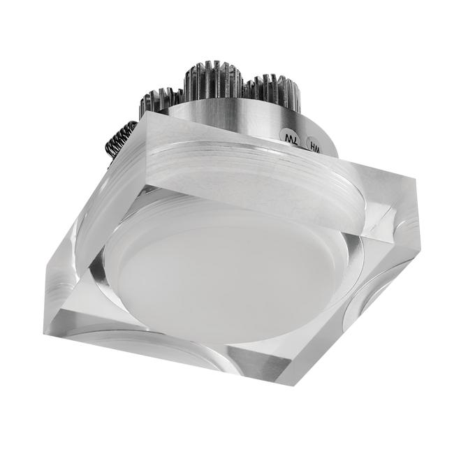 goldX ZE443-SQ - Sıva Altı Cam LED Spot