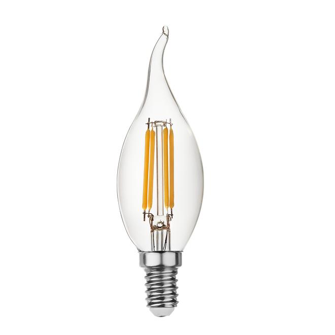 goldX ZE891-C - 4 Watt LED Flaman Ampul