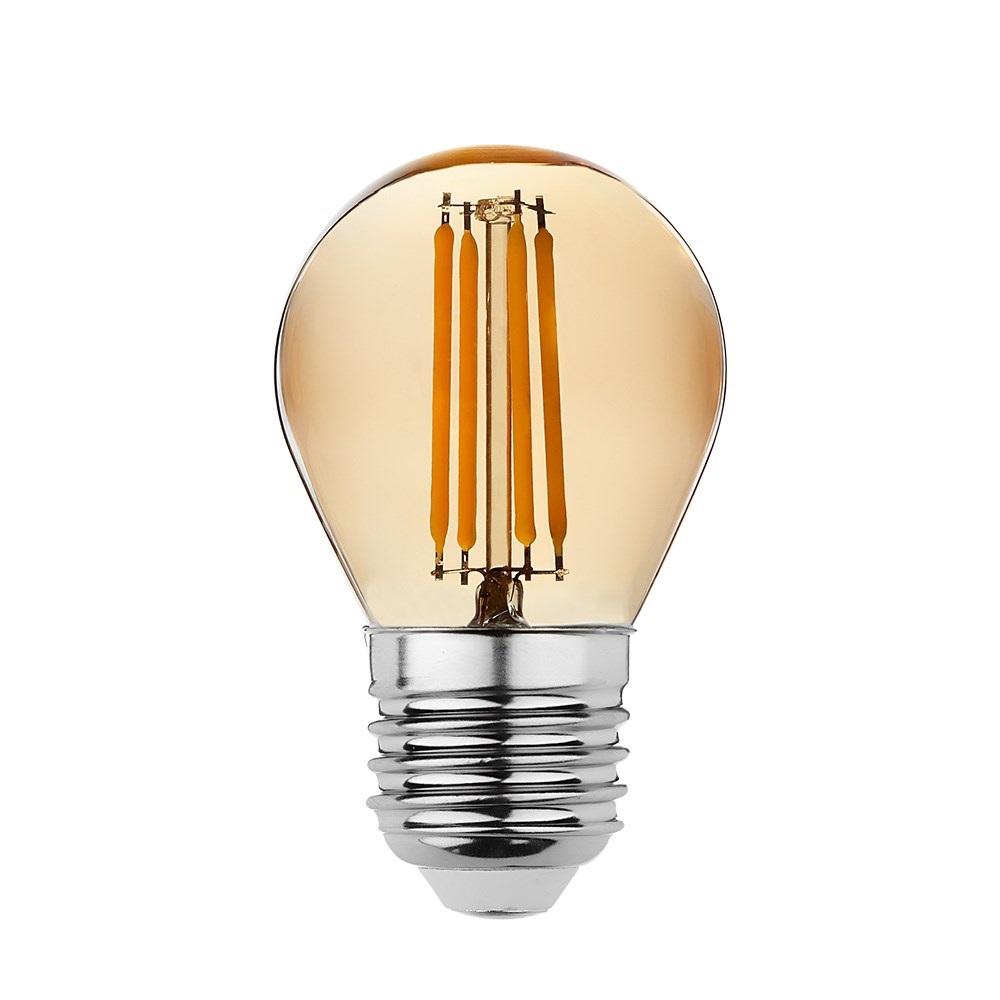 goldX ZE892-G - 4 Watt LED Flaman Ampul