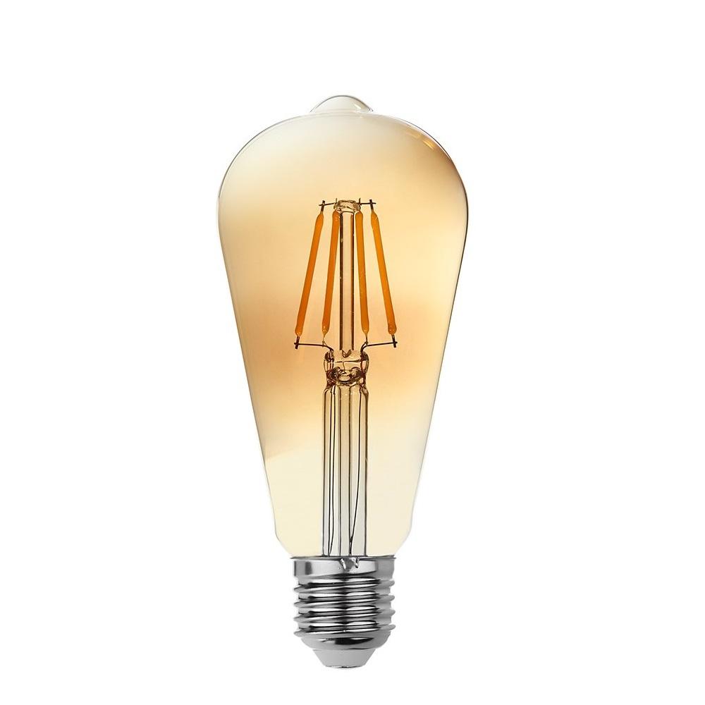 goldX ZE895-G - 6 Watt LED Flaman Ampul