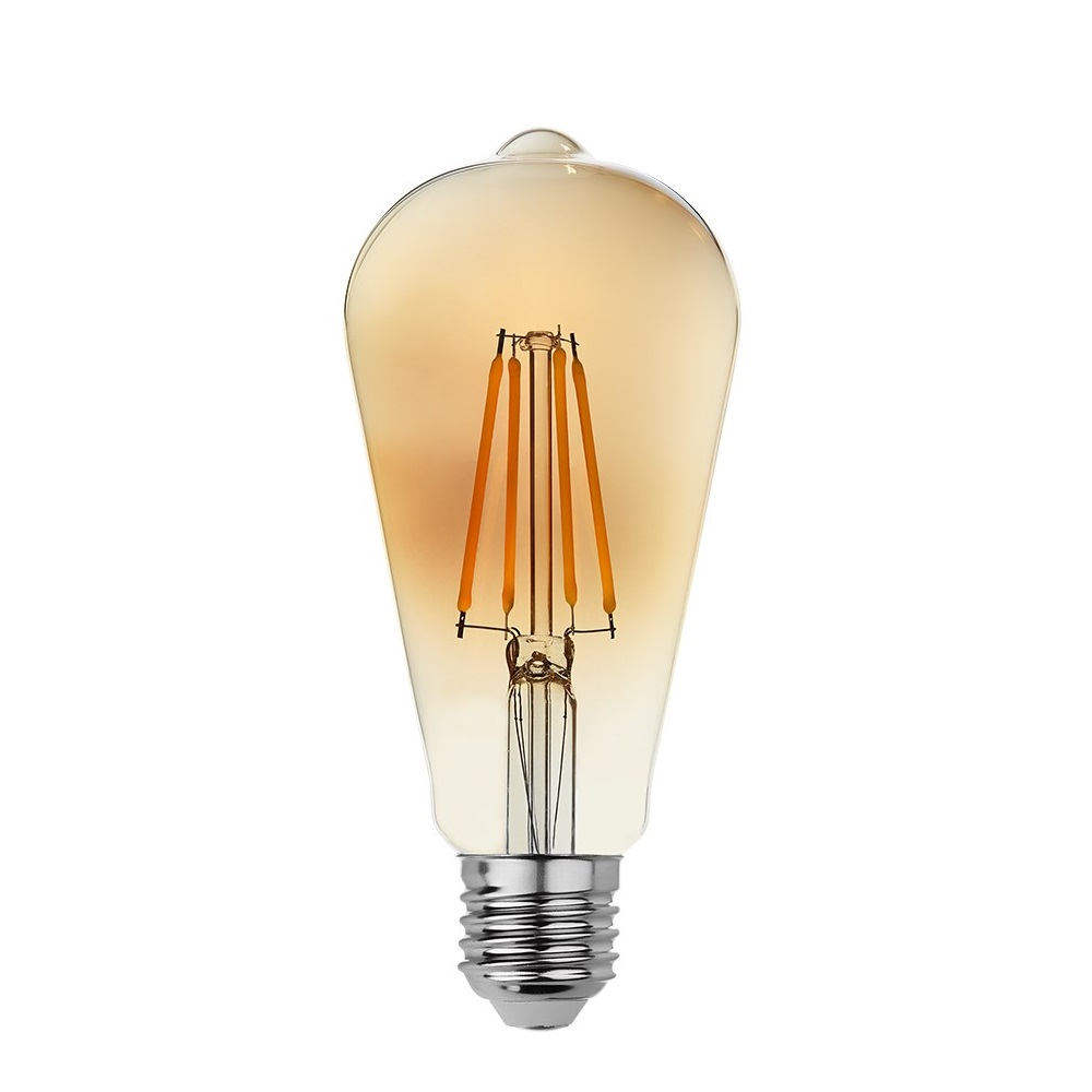 goldX ZE896-G - 8 Watt LED Flaman Ampul