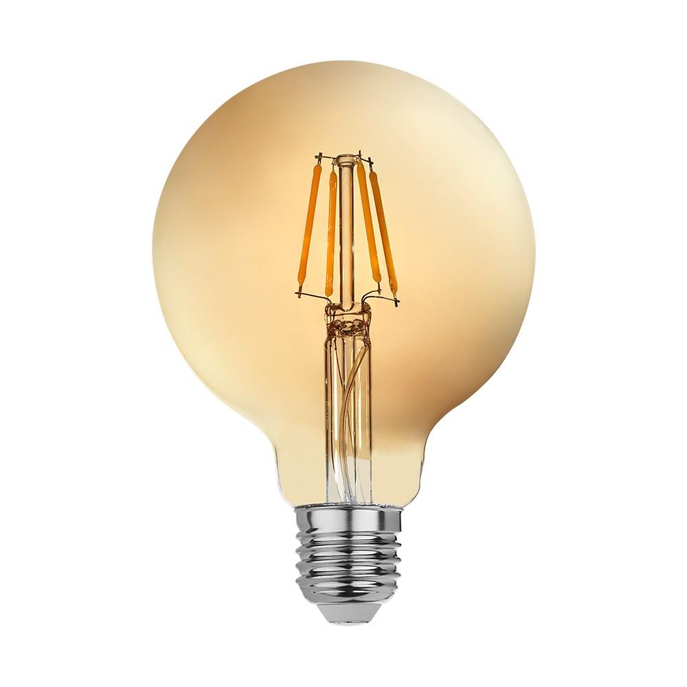 goldX ZE970-G - 6 Watt LED Flaman Ampul