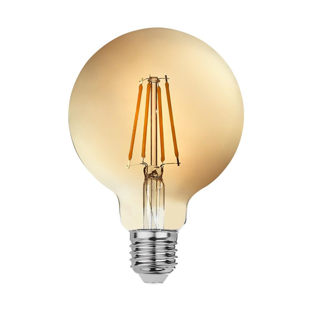 goldX ZE971-G - 8 Watt LED Flaman Ampul