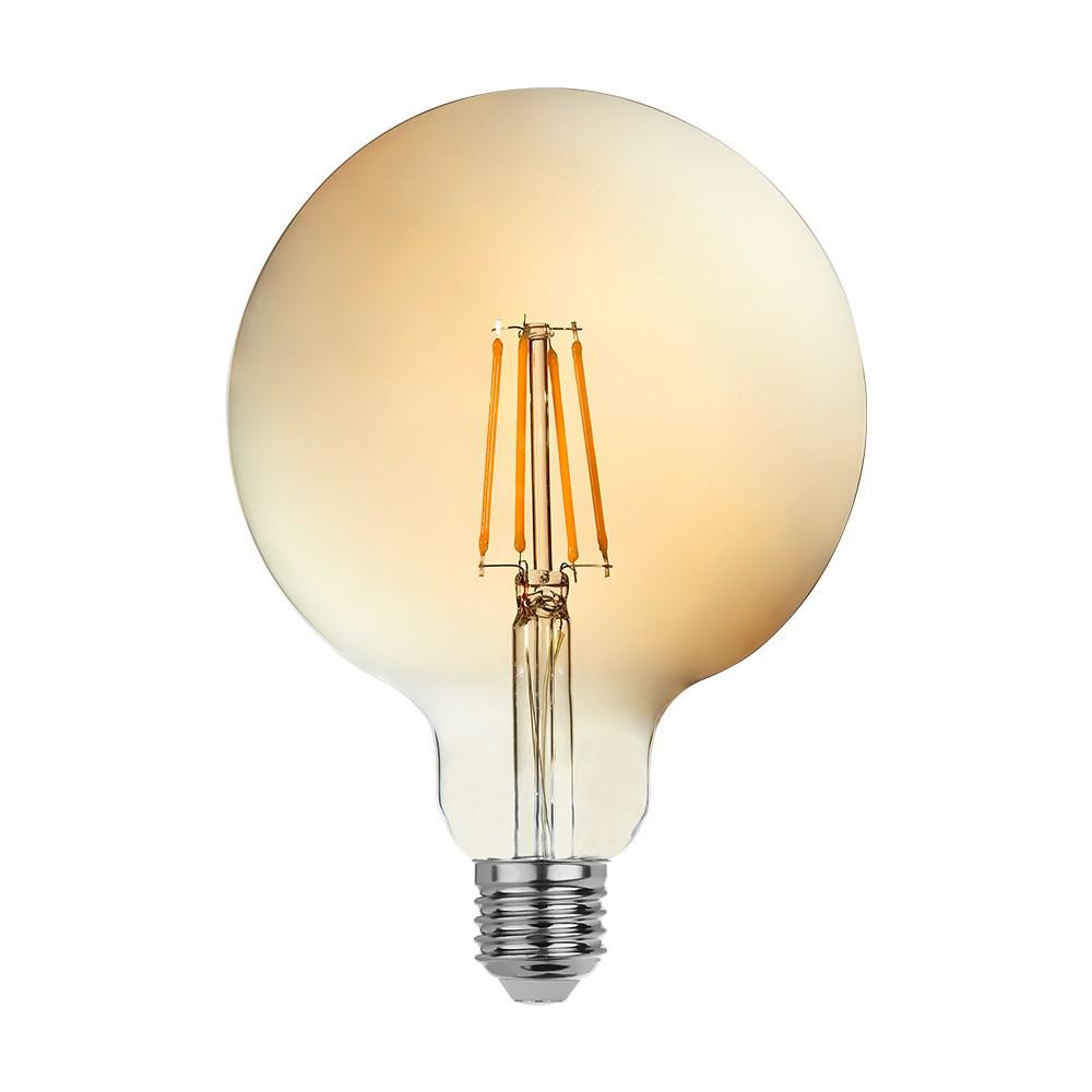 goldX ZE973-G - 8 Watt LED Flaman Ampul